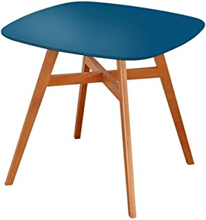 AOIWE Nordic Simple Moderne Solide Wood Petite Table Square Table à la Maison Balcon Table à Manger Table Square (Color : ...
