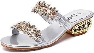 New Women Shoes Slippers Summer Beach Sandals Fashion Women Rhinestone Outdoor Slippers Flip Flops Shoes Women