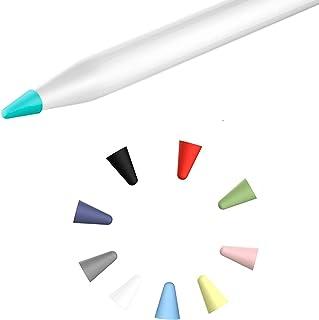 Delidigi blu, nero, grigio, bianco Set di 40 tappi in silicone per Apple Pencil 1/° e 2/° generazione