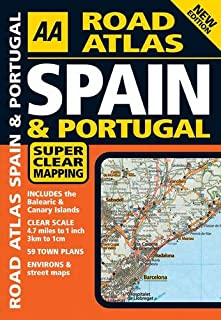 AA Road Atlas Spain and Portugal