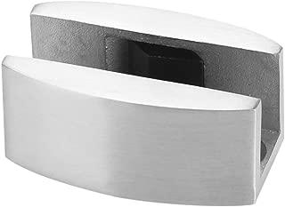 304 Stainless Steel Floor Bottom Guide Replacement Floor Door Stopper Bumper for Frameless Sliding Glass Doors