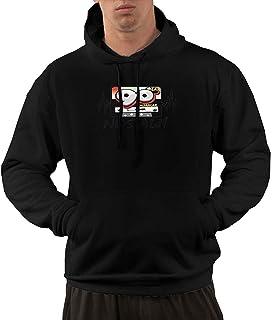 Men's Hoodie Sweatshirt Nostalji ?Ark?lar Remix Set 80'ler 90'lar New Classic Minimalist Style Black