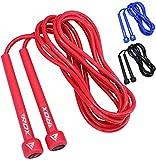 RDX Saltar Cuerda Ajustable PVC Saltar Velocidad MMA Boxeo Perder Gimnasio Peso Gimnasia Fitness Saltar Metal Cable Entrenamiento Ejercicio Entrenamiento