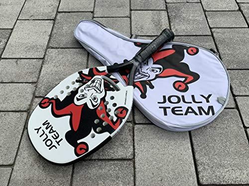 JBT Racchettone JollyBeachTennis - Racchetta da Beach Tennis Jolly Beach Tennis Lunghezza 50,5cm - Spessore 3,0cm