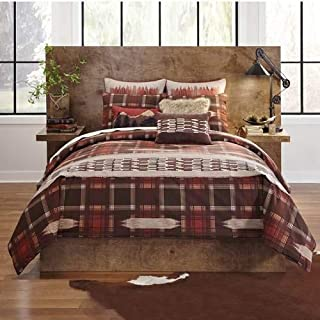 Croscill Wagner Duvet Cover in Paprika - Full Queen Size (100% Cotton)