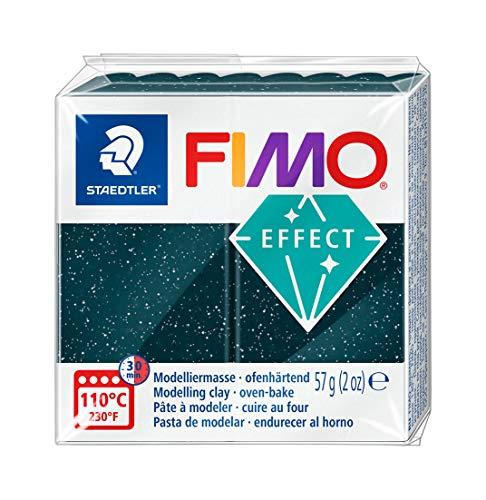 Staedtler - Fimo Effect - Pain Pte à Modeler 57 g Effet Pierre Noir Etoilé