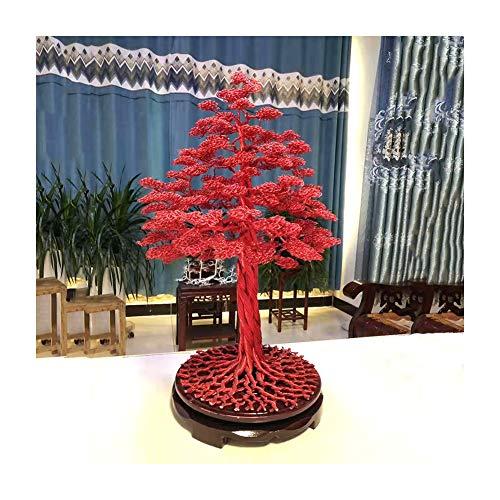 SXGKY Künstliche Cedar Bonsai-Bäume Feng Shui Geldbaum, Künstlicher Bonsai Ceder, Hochwertiger Kunstbonsai, Glücksbaum Für Home Office Shop Dekoration