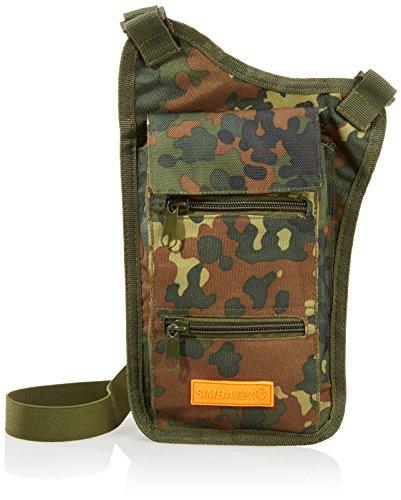 B Coffre-Fort Naked et de défense Body de sécurité Objets de Valeur de Poche Long Camouflage, Multicolore, Taille Unique, 818930