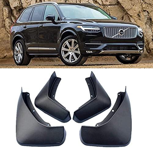 KSSFBBN Faldillas Antibarro Mudflaps para Volvo XC90 2015-2019, contra Salpicaduras Guardabarros De Coche Accesorios De Coche