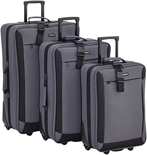 Clipper Set di valigie 301GR Grigio 82.0 liters