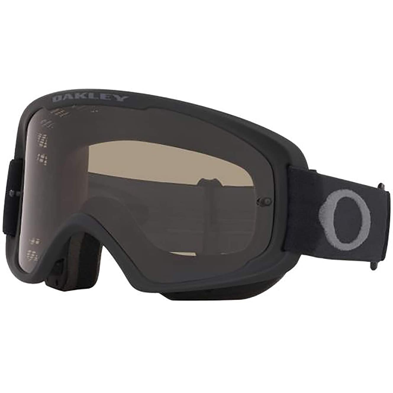 Oakley O-Frame 2.0 Men's MTB Off-Road Cycling Goggles - Matte Black/Dark Grey & Clear/One Size