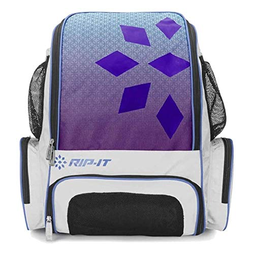 RIP-IT Gameday Softball Backpack (Aqua/Purple, One Size)
