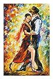 JCCOZ -P Colorida serie de pintura al óleo rompecabezas-tango argentino-cada pieza es única, piezas encajan perfectamente (520/1000/1500 piezas) P (tamaño: 520 piezas)