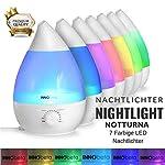 INNObeta Waterdrop 2,4 Litre Ultrasonic Humidificateur d'air pour Bébé, Ambiance, Maison, avec Filtre, Silencieux, Veilleuse, Auto-Arrêt (Jusqu'à 35㎡) #1