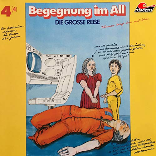 Begegnung im All audiobook cover art