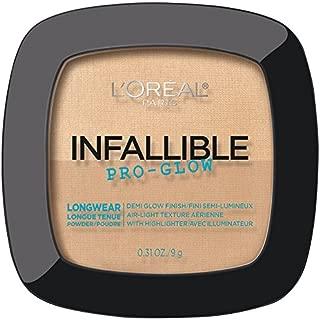 L'Oréal Paris Infallible Pro Glow Pressed Powder, Creamy Natural, 0.31 oz.