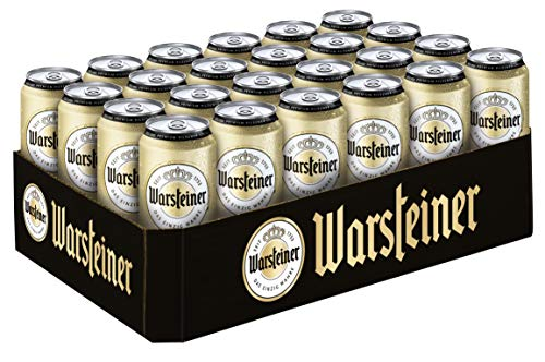 Warsteiner Premium Pilsener 0.5 l Dosen Tray DPG EINWEG (24 x 0,5 L)
