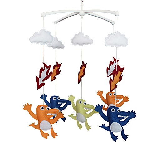 Baby Mobile Hanger Creative Baby Toy pour Unisex Baby Musical Mobile