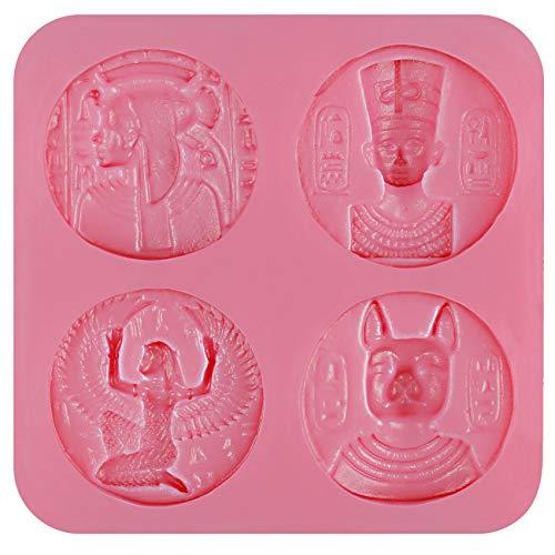 musykrafties Antiguo Egipto Monedas Inspirado Dulces de Choc