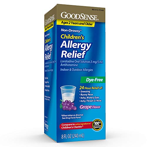 GoodSense Children's Allergy Relief, Loratadine Oral Solution 5 mg/5 mL