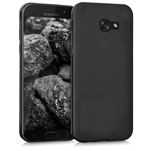 kwmobile Hülle kompatibel mit Samsung Galaxy A5 (2017) - Handyhülle - Handy Case in Schwarz matt