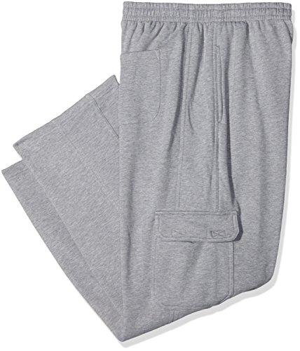 Urban Classics Cargo Sweatpants Pantalon Homme, Gris, W44 (Herstellergröße: 5XL)