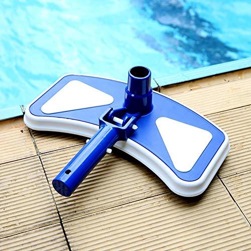 Athemeet Upgrades Schwimmbadreiniger, Swimming Pool Vacuum Pond Reinigungswerkzeug, beweglich Pool Maintenance Kit, Pool Skimmer-Sets Pool Vakuumkopf Flexible Pool Vakuumkopf Flexible Pool Liner