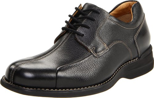 Johnston & Murphy Men's Shuler Bicycle|Full-Grain Leather|Latex Rubber Sole