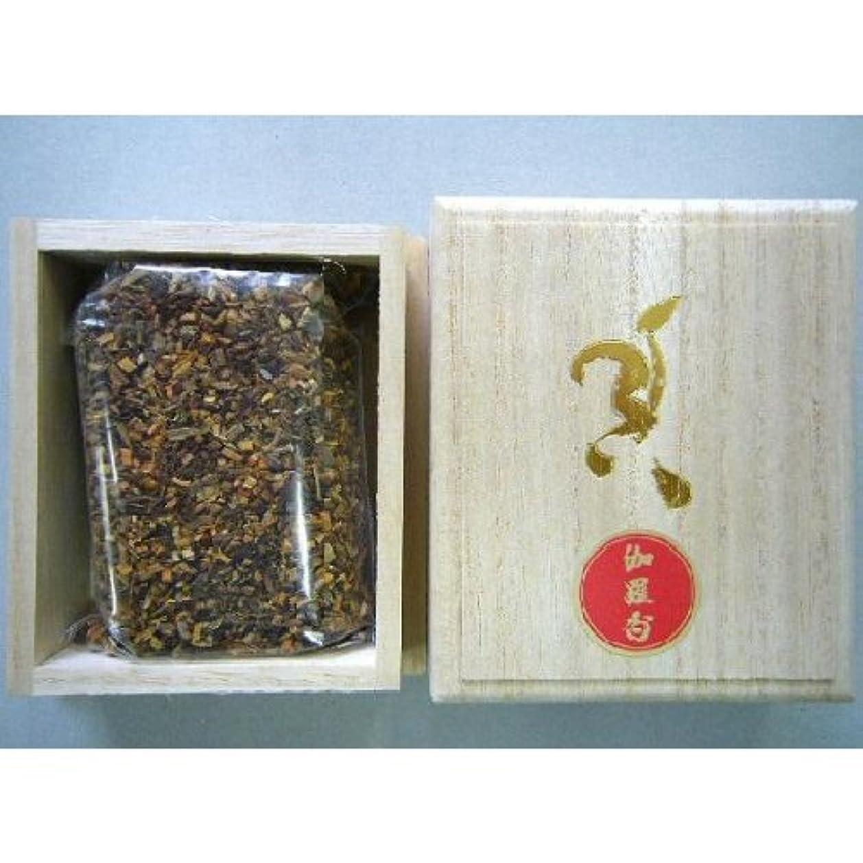 暗記する不機嫌処理する焼香 伽羅香30g桐箱入り 抹香