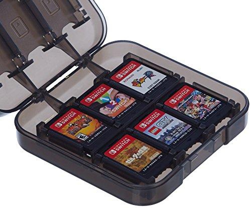 Amazon Basics - Custodia porta cartucce di gioco per Nintendo Switch - Nero