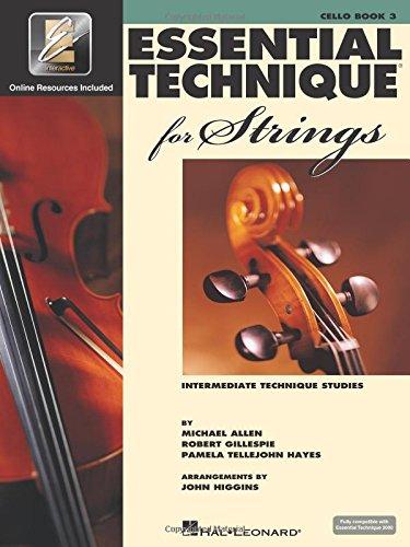 Essential Technique for Strings with EEi: Cello (Intermediate Technique Studies)