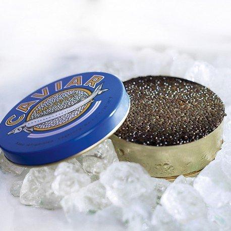Caviar de esturion ruso 30gr. malossol