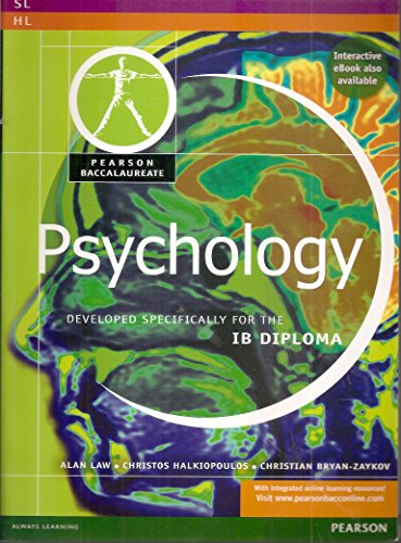 PEARSON BACCAULARETE PSYCHOLOGY (Pearson Baccalaureate)