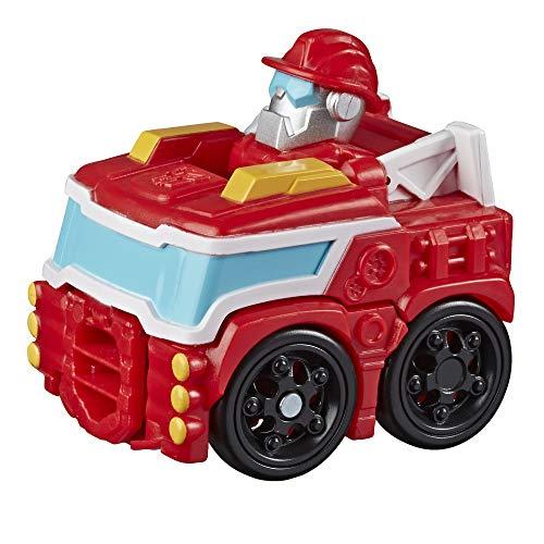 Hasbro Transformers - Mini Bot Racers (Playskool Heroes Rescue Bots Academy, Auto Giocattolo trasformabile da 5 cm)