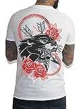 Hobo Jack - Panther - Back Print - White Tee T-Shirt