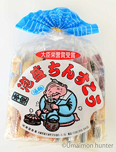 南国の泡盛ちんすこう (2個入×18袋)×4箱 南国製菓 泡盛の風味がほんのり広がる サクサク食感ちんすこう 沖縄土産にもおすすめ