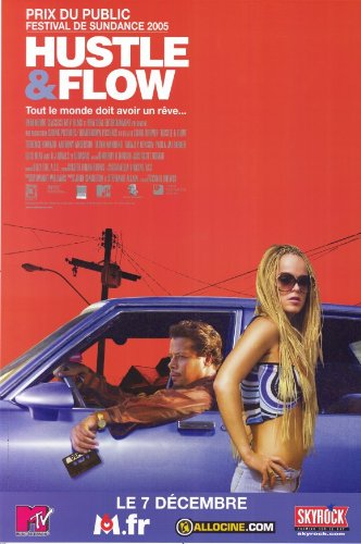 Pop Culture Graphics Hustle and Flow Poster Movie French 11x17 Terrence Dashon Howard DJ Qualls Ludacris Taryn Manning