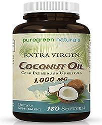 Image of Coconut Oil Capsules - 1000...: Bestviewsreviews