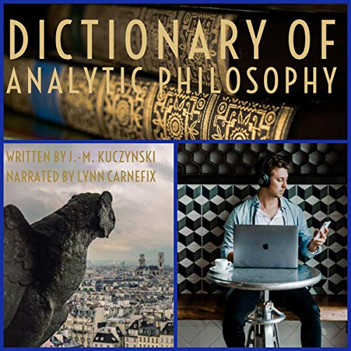Dictionary of Analytic Philosophy audiobook cover art