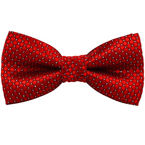 BAICFQUK Dog Bow Ties, Adjustable Bow tie, Fashion Accessories for Pet Dog Cat BT286 (Red)