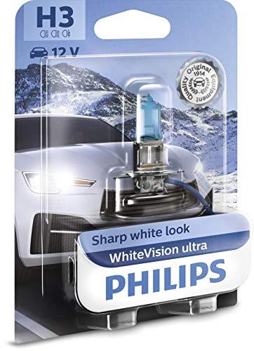 Philips WhiteVision ultra H3 Scheinwerferlampe, Einzelblister