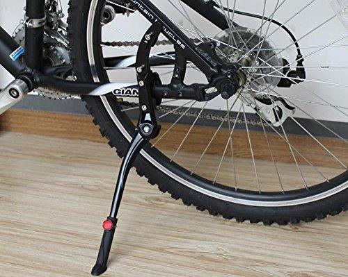 MINGZE Lega di Alluminio Regolabile Bicicletta Cavalletto, Mountain Bike Misura 24-28 Pollici Biciclette