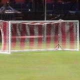 Lujuny Soccer Goal Net - 24 x 8 Ft - Polyethylene Football Training Goal Post Replacement Netting (Only Net)