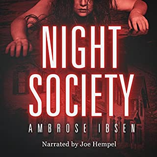 Night Society audiobook cover art