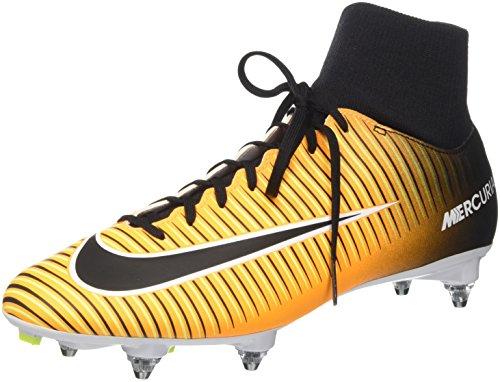 Nike Herren Mercurial Victory Vi Df Sg Fußballschuhe, Orange (Laser Orange/Black/White/Volt), 41 EU
