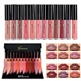 Someas Europe Style Matte Lipstick Lippenstift High End Gift Box Lip Gloss Set 12 Color Set Long Lasting Lips Cosmetics