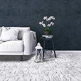 Achim Home Furnishings FTVMA45520 Bianco Marble Nexus x 12 Self Adhesive Vinyl Floor Tile-20 Tiles/20 sq. ft