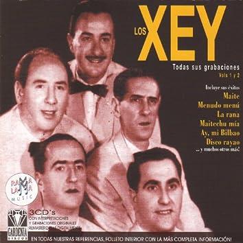 Los Xey. Todas Sus Grabaciones Y Éxitos Vol.1 Y 2 (1944-1947)