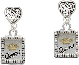 alpha queen earrings