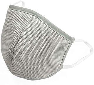 [Amazon限定ブランド] クール&ドライ日本製ハイブリッドマスク(抗ウイルスシート1枚付き)(オールシーズン可) (ライトグレー, 大人用L) OUTDOOR HILLS
